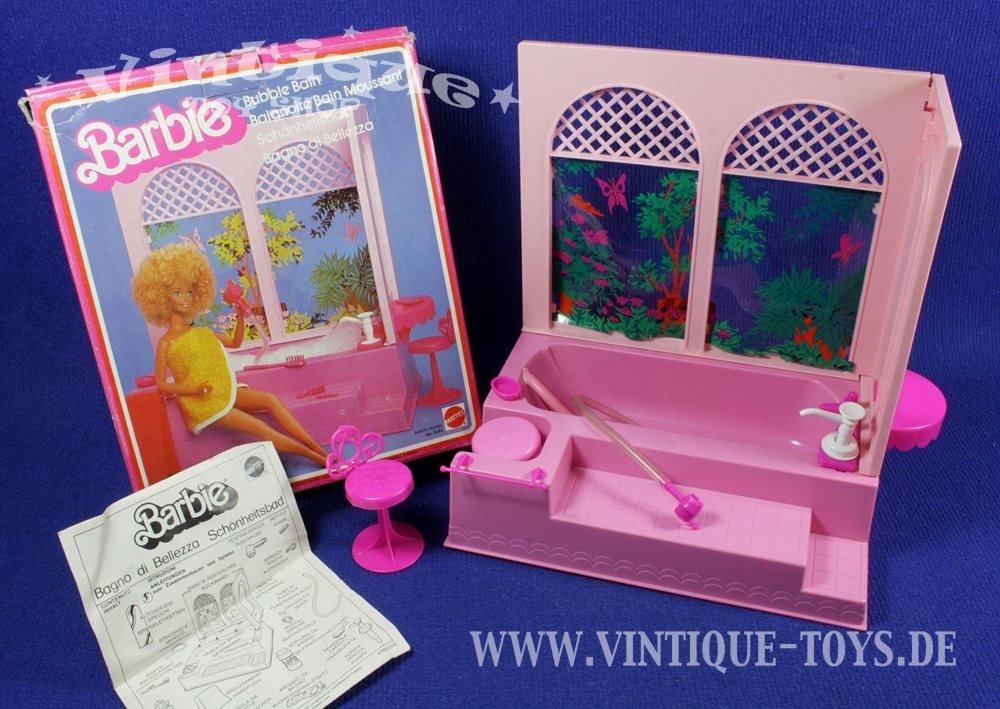 Barbie BADEZIMMER SCHÖNHEITSBAD mit OVP, Mattel, 1981, 27,90 €