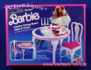 Barbie FASHION DINING ROOM MIT TISCH in OVP, Mattel, 1984