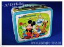 Blech Metal-Lunchbox WALT DISNEY WORLD, Aladdin...