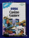 CASINO GAMES Spielmodul / cartridge für Sega Master...
