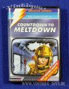COUNTDOWN TO MELTDOWN Cassetten-Spiel für Commodore C 64...