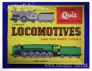 FAMOUS LOCOMOTIVES Quiz-Puzzle, Waddington,...