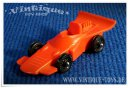 FORMEL 1 RENNWAGEN 1:43 orange, Galanite, ca. 1968