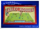 GAME OF TABLE CROQUET, Grossbritannien ca.1920