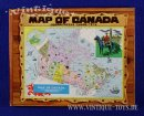 MAP OF CANADA Jigsaw Puzzle, Somerville Industries...