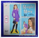 Paper Doll / Magnetische Ankleidepuppe MAGIC MARY LOU, MB...