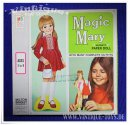 Paper Doll / Magnetische Ankleidepuppe MAGIC MARY, MB...