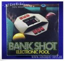 Parker BANK SHOT ELECTRONIC POOL Billard Computerspiel in...