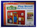 SESAME STREET PLAY ACTIVITY CENTER, knickerbocker toy co....
