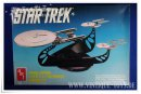 amt Ertl STAR TREK 3 STARSHIP CHROME SET, amt Ertl, ca.1991