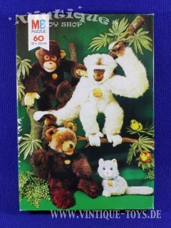 60 Teile Puzzle Steiff TEDDY, MB International, 1995