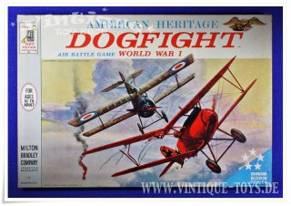 American Heritage DOGFIGHT World War I, MB Milton Bradley / USA, 1963