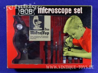 B.O.B. MICROSCOPE SET Model 650, Jake Levin & Son Inc. / USA, 1965