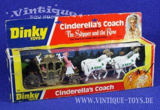 CINDERELLAS COACH aus dem Film The Slipper and the Rose in OVP, Dinky Toys Meccano LTD / GB, 1976