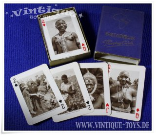 EAST AFRICAN PLAYING CARDS, ohne Herstellerangabe, ca.1955