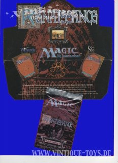 MAGIC THE GATHERING Erweiterungsset RENAISSANCE Limitierte Edition Deutsch Komplettsammlung, Wizard of the Coast, 1995