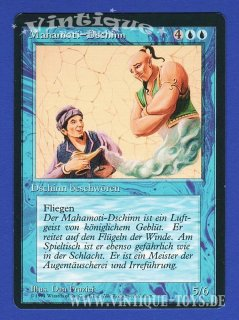 MAGIC THE GATHERING Rare Einzelkarte MAHAMOTI-DSCHINN aus DIE ZUSAMMENKUNFT limitierte Revised Edition Deutsch, Wizard of the Coast, 1994