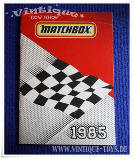 Matchbox SAMMLER KATALOG 1985 deutsch, Matchbox Lesney, 1985