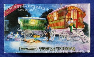 Models of Yesteryear Special Edition YSH-1 GYPSY CARAVAN 1900, Matchbox Collectibles, ca.1993