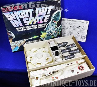 ELECTRONIC SHOOT OUT IN SPACE, Chad Valley / GB, 1979