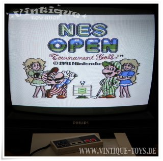 NES OPEN TOURNAMENT GOLF Spielmodul / cartridge für Nintendo NES, Nintendo, ca.1991